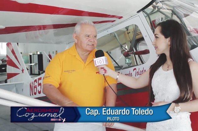 'Aeroshow mortal' en Cancún, muere piloto empresario