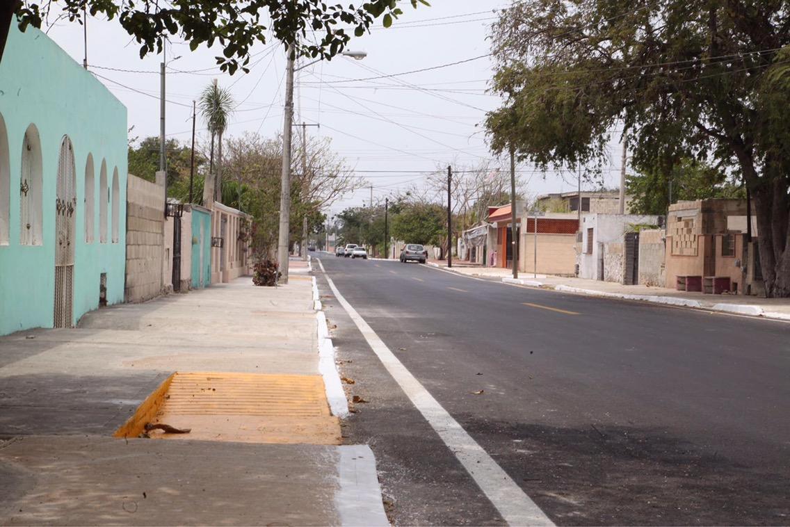 Avanzan obras de vialidad en Mérida