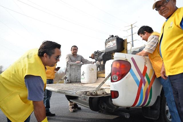 Operativo de fumigación en costa de Yucatán