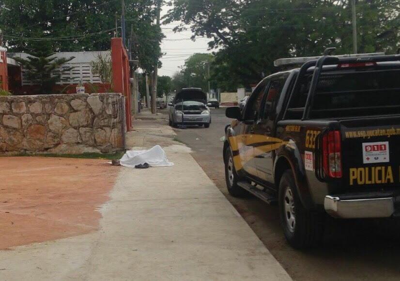 Convulsiona y sufre infarto en calles de la colonia Vicente Solís