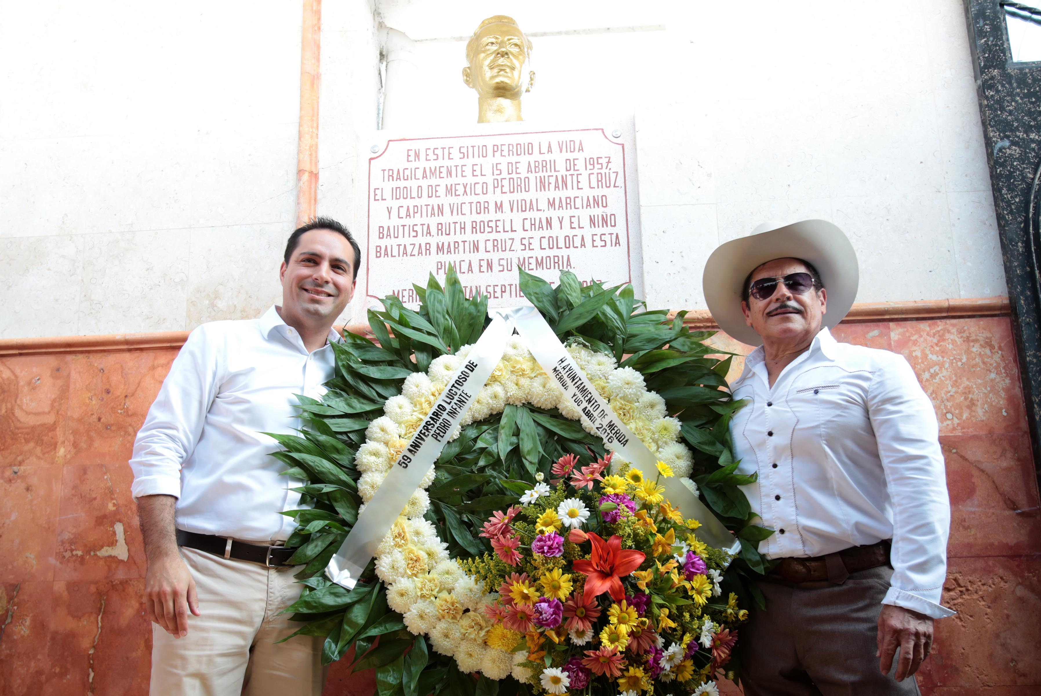 Anuncian construcción de parque en honor a Pedro Infante