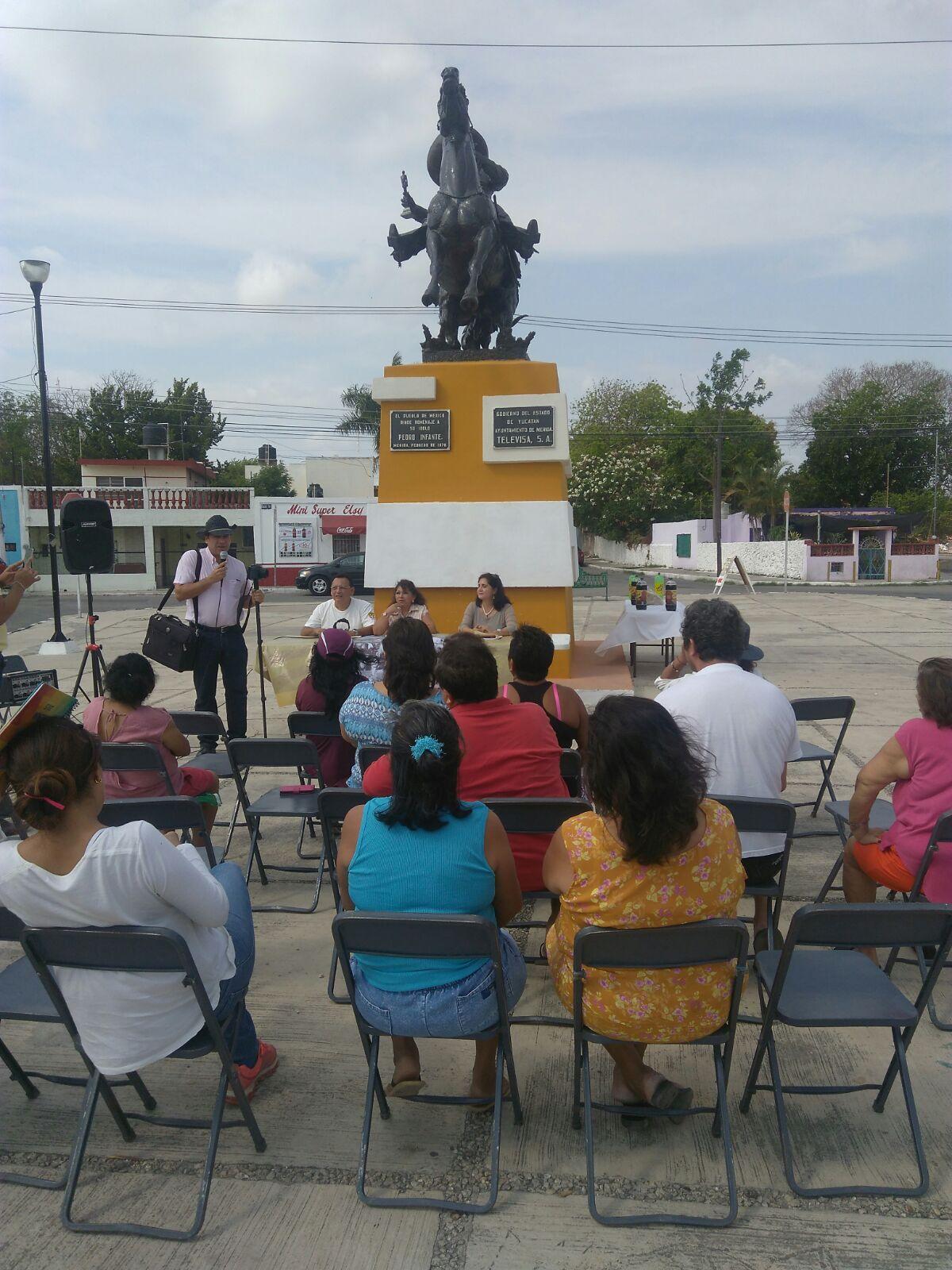 Rechazan nuevo parque a Pedro Infante