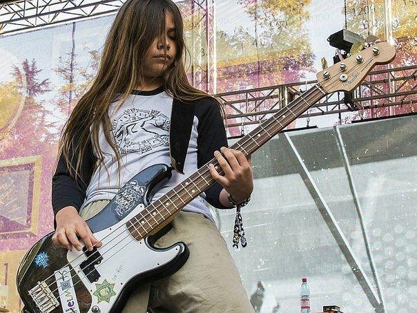 Korn tendrá un bajista de 12 años