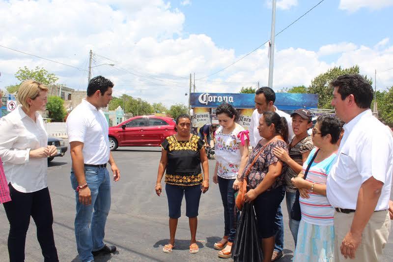 Contraponen priistas versión sobre daños a vialidades en Mérida