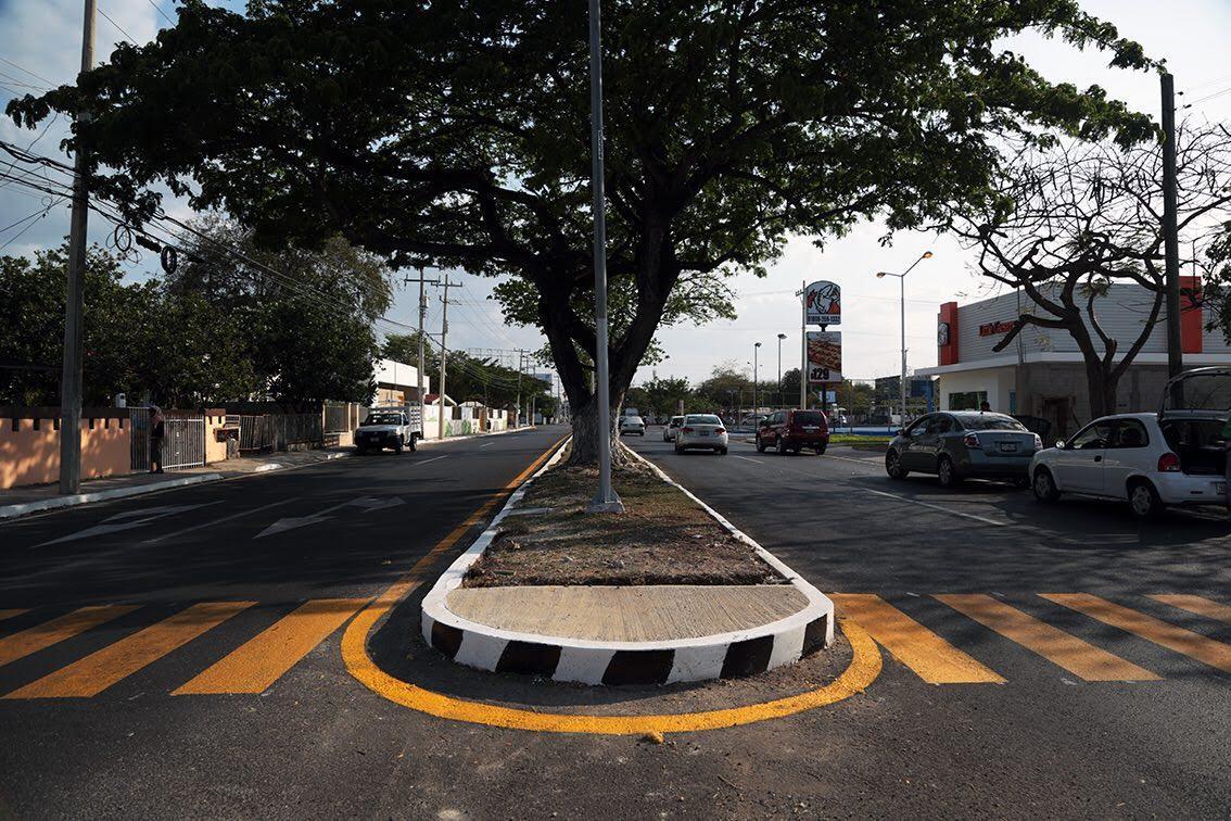 Entregan obras viales en avenida Felipe Carrillo Puerto