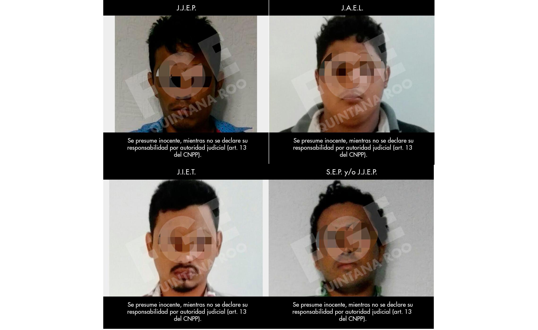 Implican a cuatro campechanos en plagio en Cancún