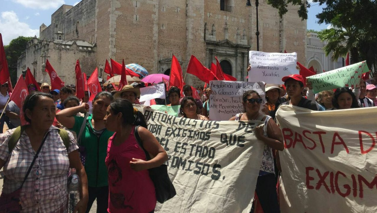 Mete presión Antorcha Campesina para lograr apoyos