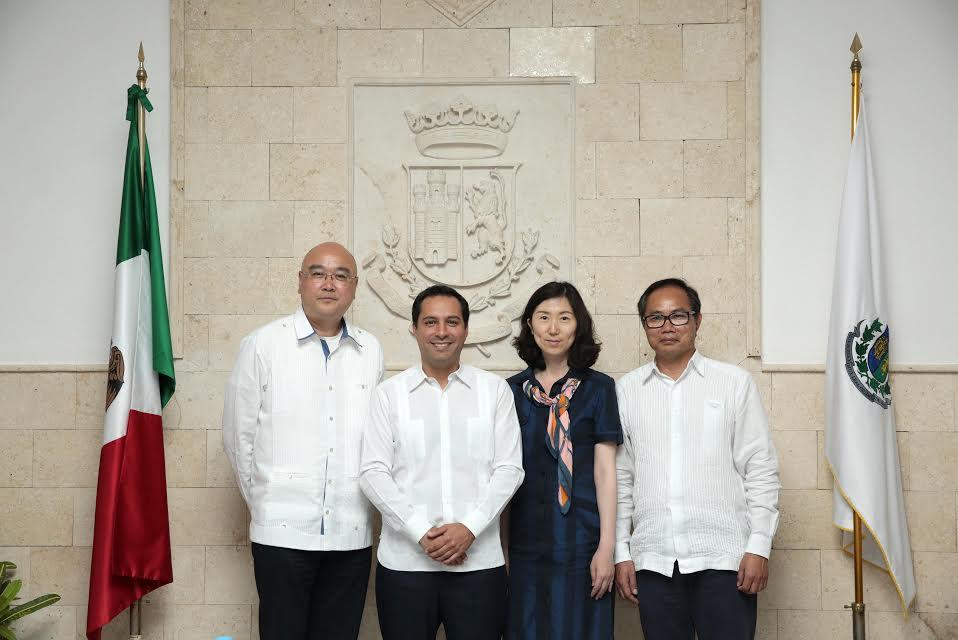 Vila y Delegación de Mérida viajan a China