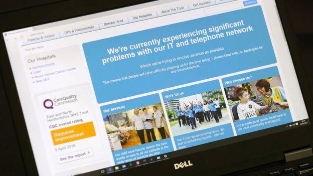 Ciberataque de escala mundial afectó a casi 100 países