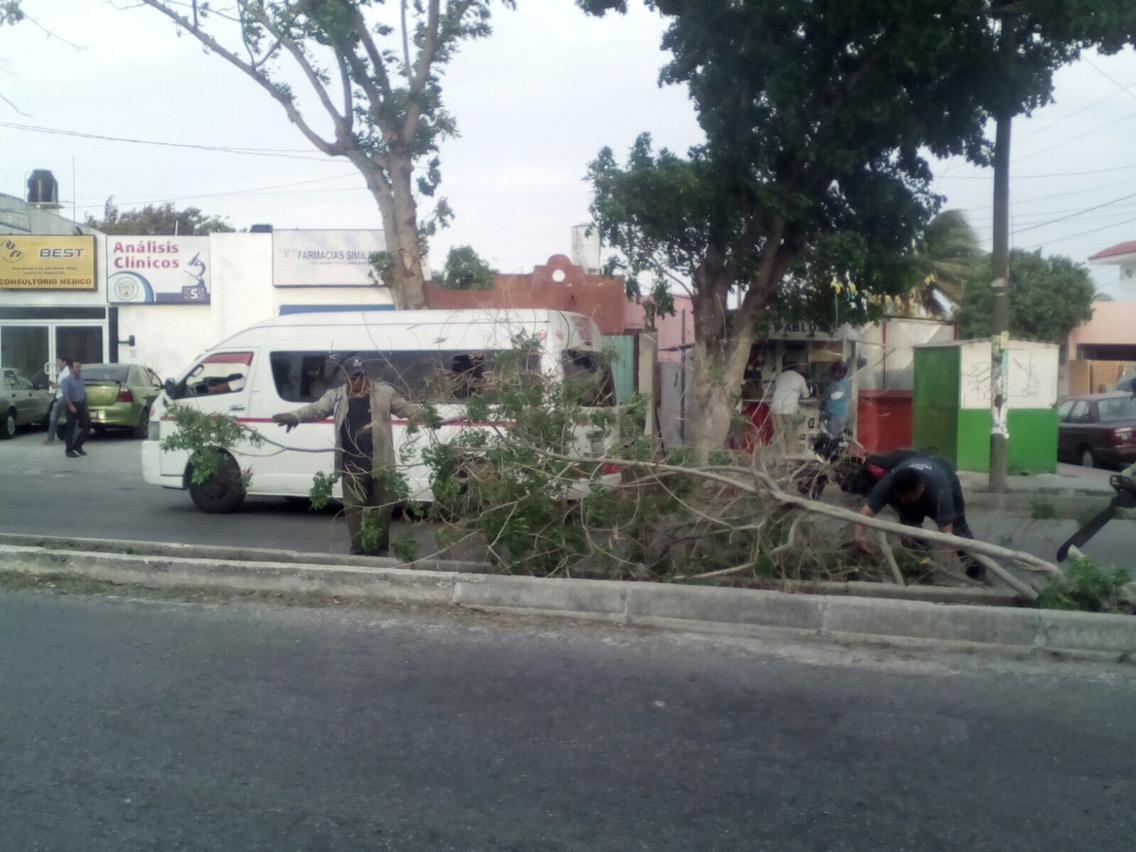 Lo que dejó la turbonada en Mérida y otras ciudades