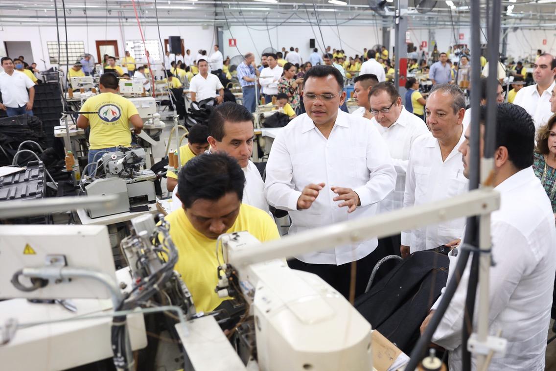 Grupo Monty Industrias inauguró maquiladora en Tizimín