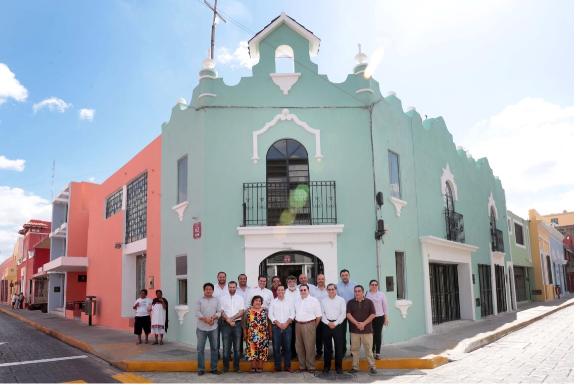 Renovadas fachadas en Centro Histórico de Mérida