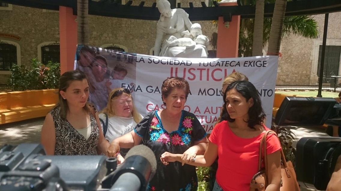 Madre de Emma Gabriela mantiene lucha por justicia
