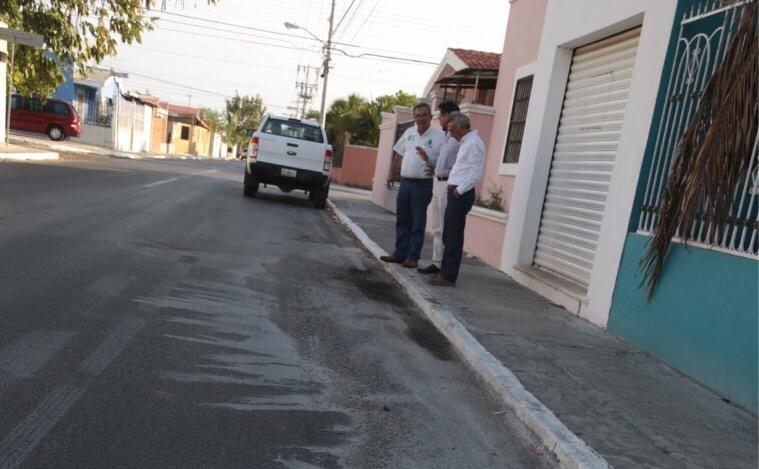 Regidores PRI-Mérida niegan vertimiento de químicos en nuevas vialidades