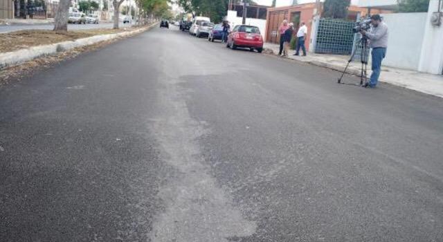 Aparecen en Mérida más vialidades dañadas por químicos