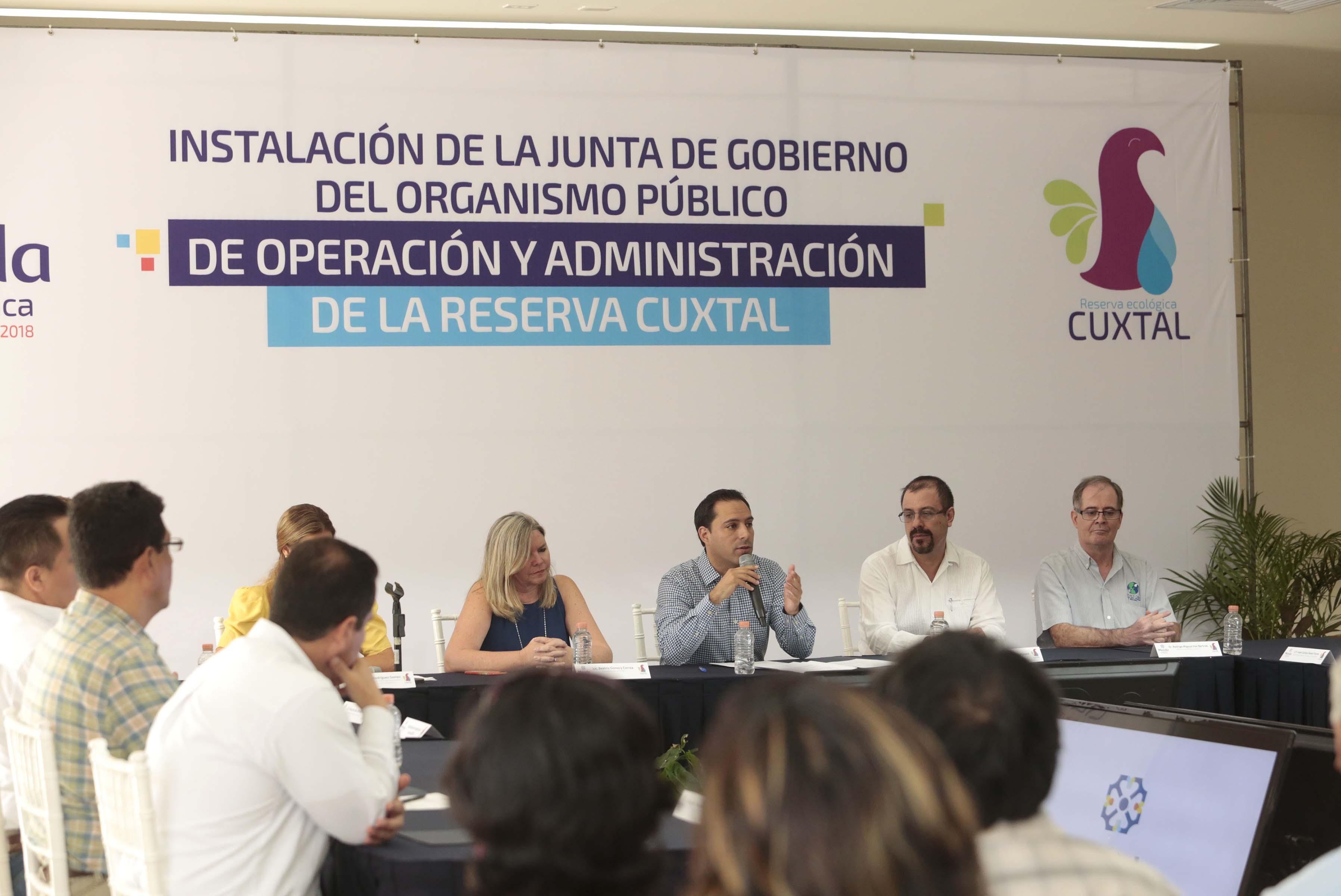 Reserva Ecológica Cuxtal tiene Junta de Gobierno