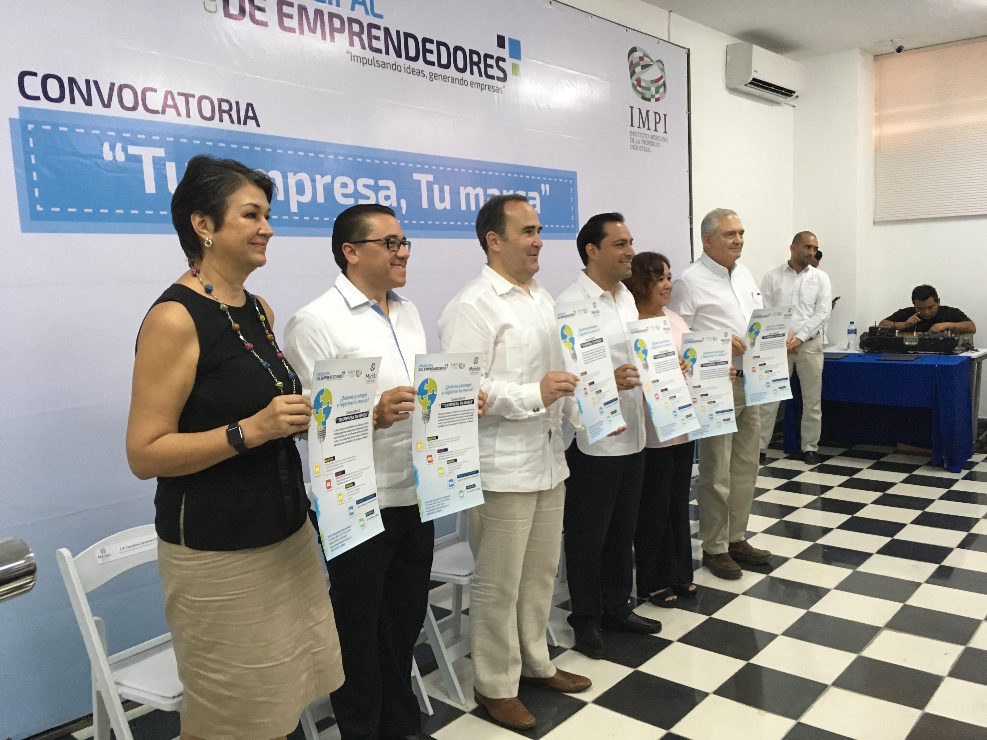 Promueve Mérida registro de marcas en IMPI