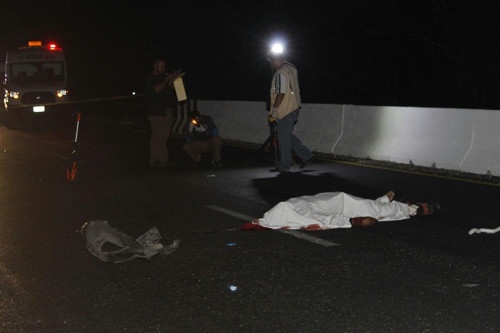 Motociclista muere en la vía Mérida Motul