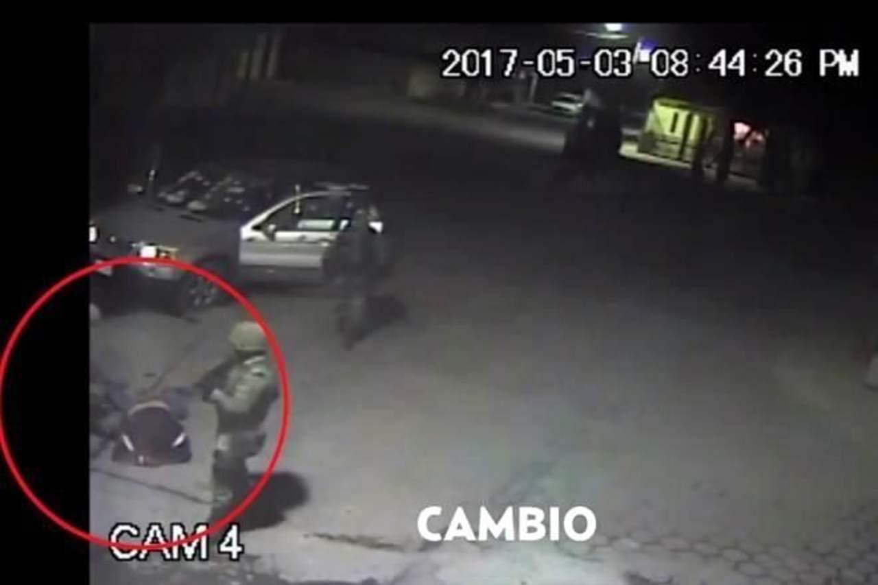 Revelan video de ejecución militar en Puebla