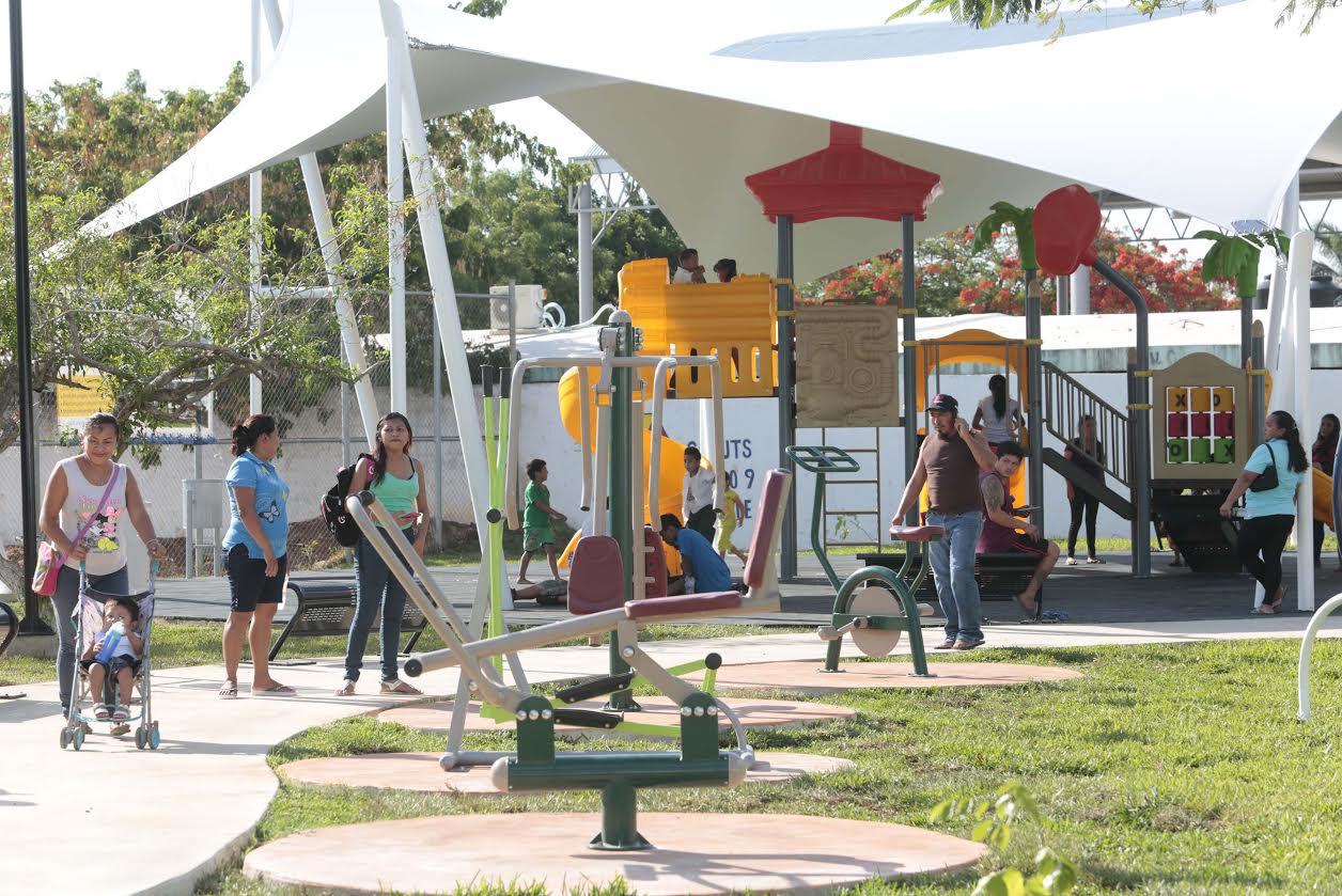 Listo segundo parque de 140 a intervenir en Mérida