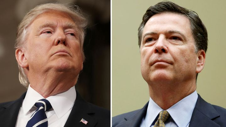 Trump amenaza al exdirector del FBI que despidió