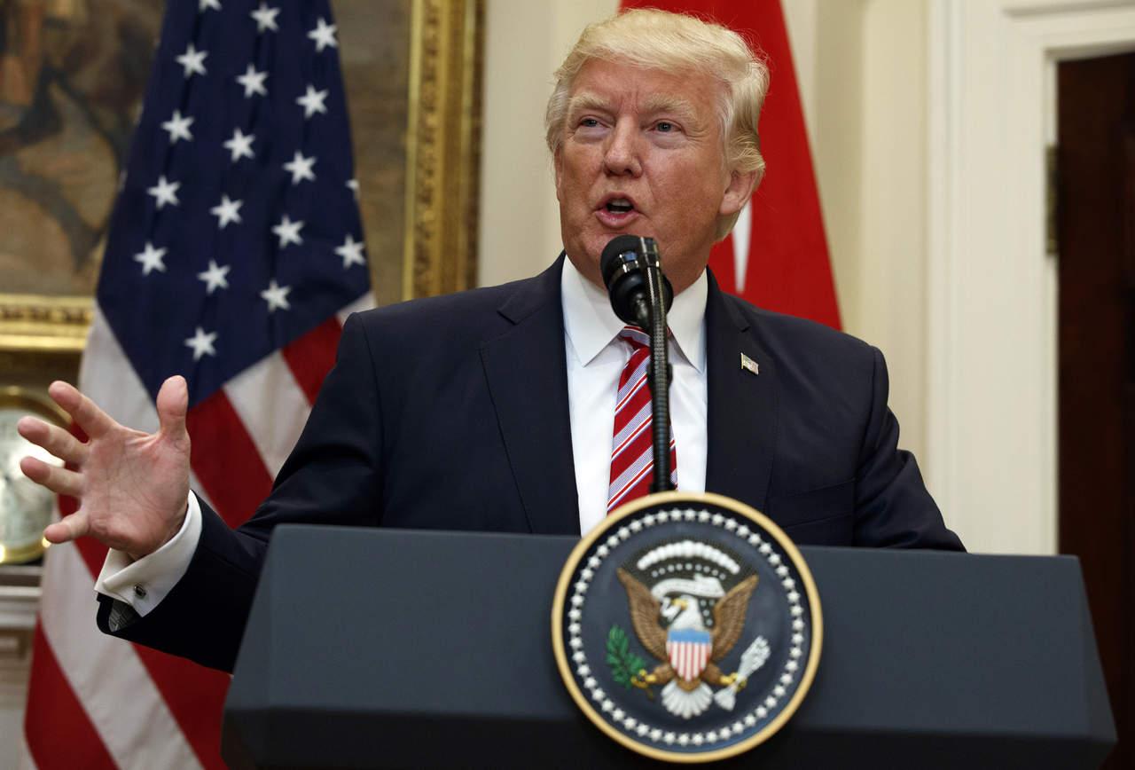 Notifica Trump al Congreso intención de renegociar el TLCAN