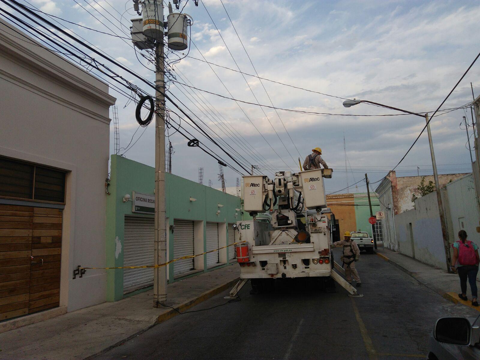 Declaran estado de emergencia en la Península de Yucatán por falta de electricidad
