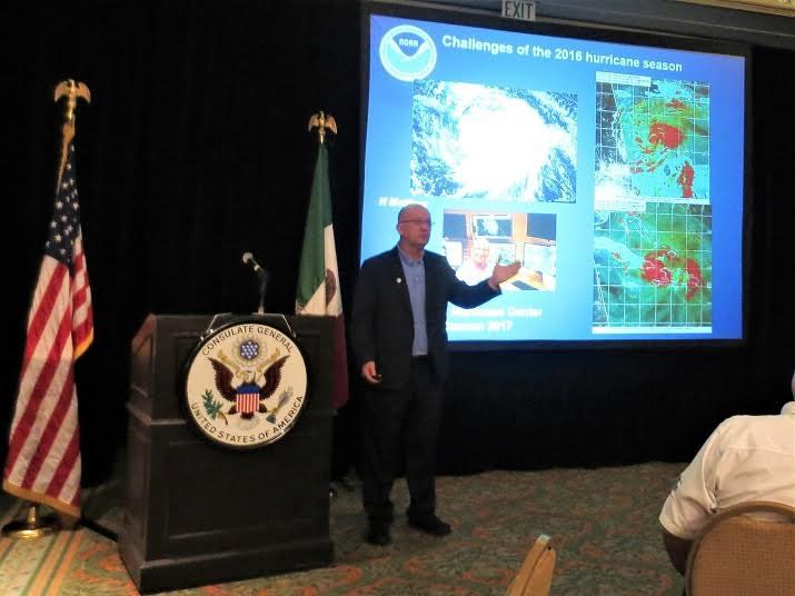 Expertos analizan en Cancún temporada de huracanes