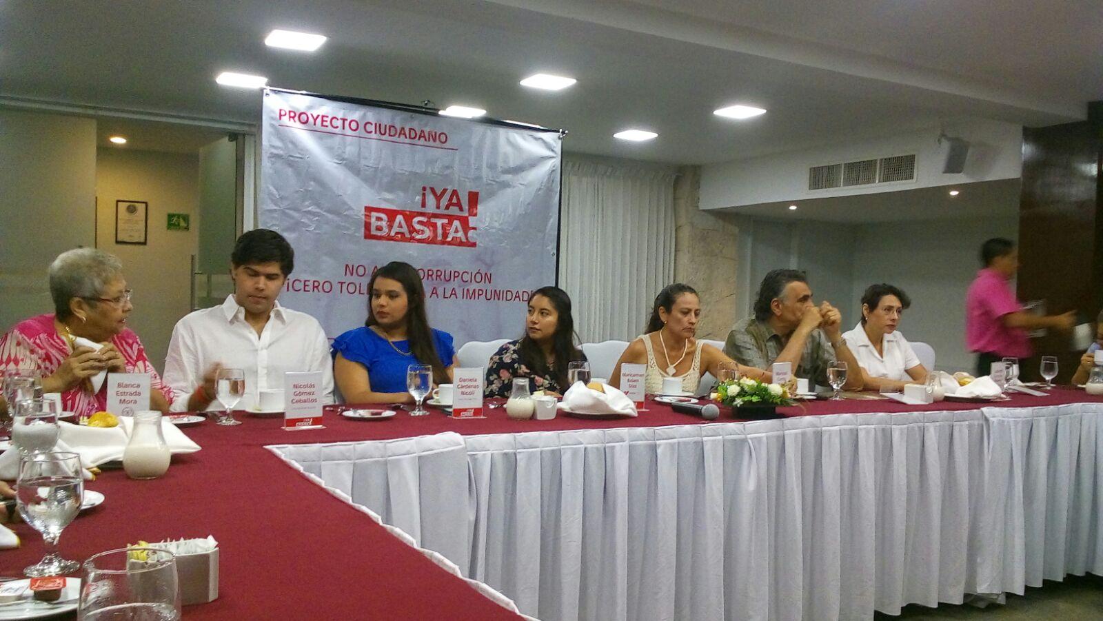 Ciudadanos en Yucatán se unen contra la corrupción