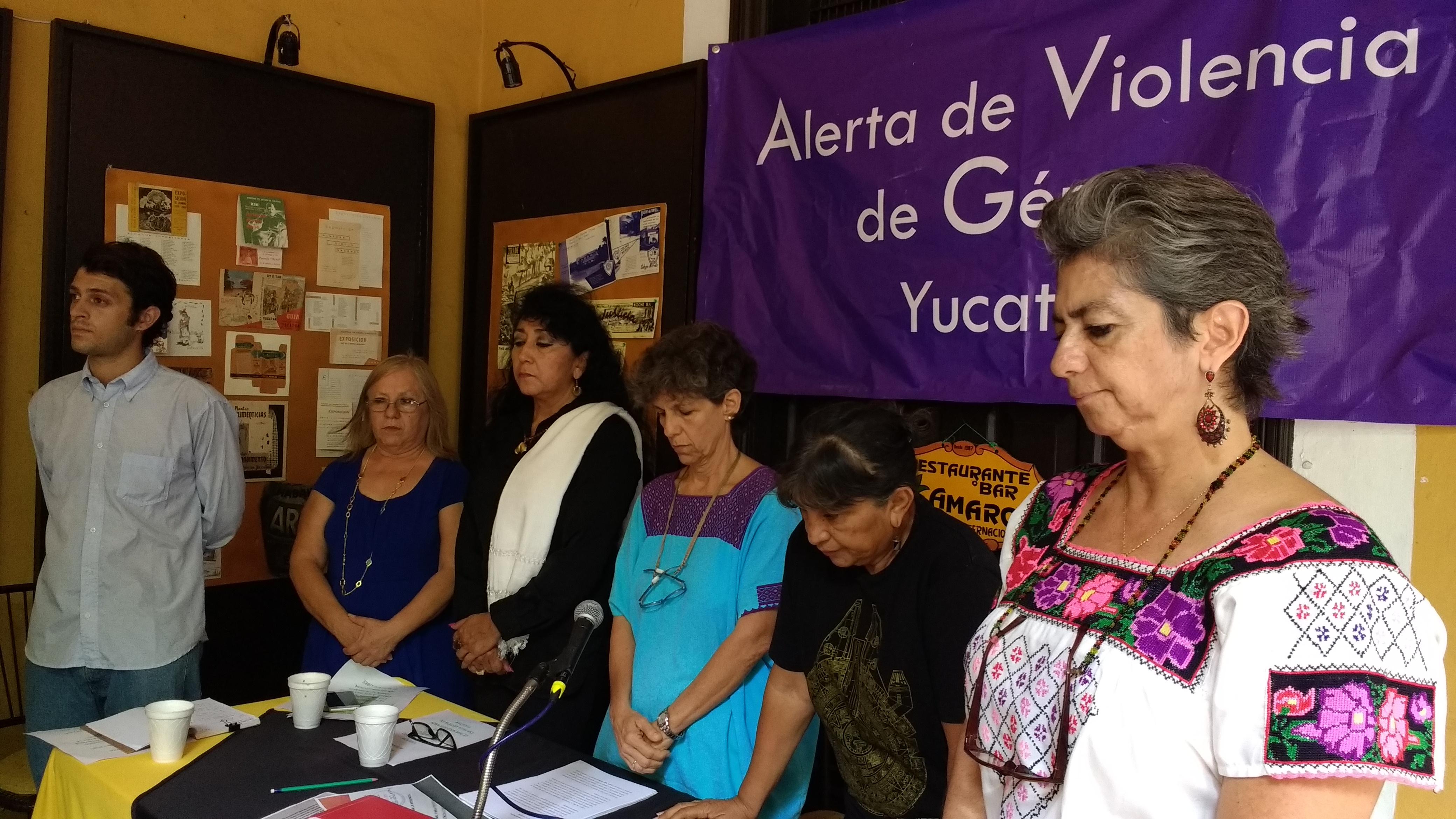 Justifican petición de alerta de género en Yucatán