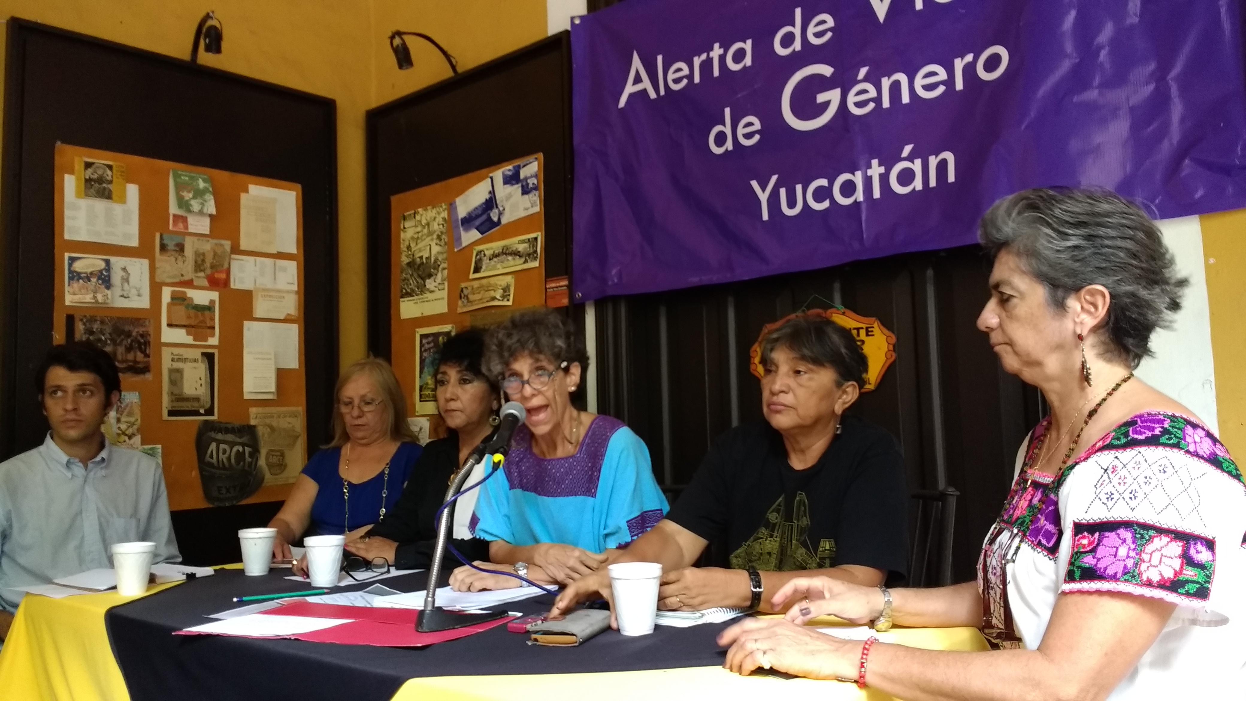 Solicitan para Yucatán alerta por violencia de género