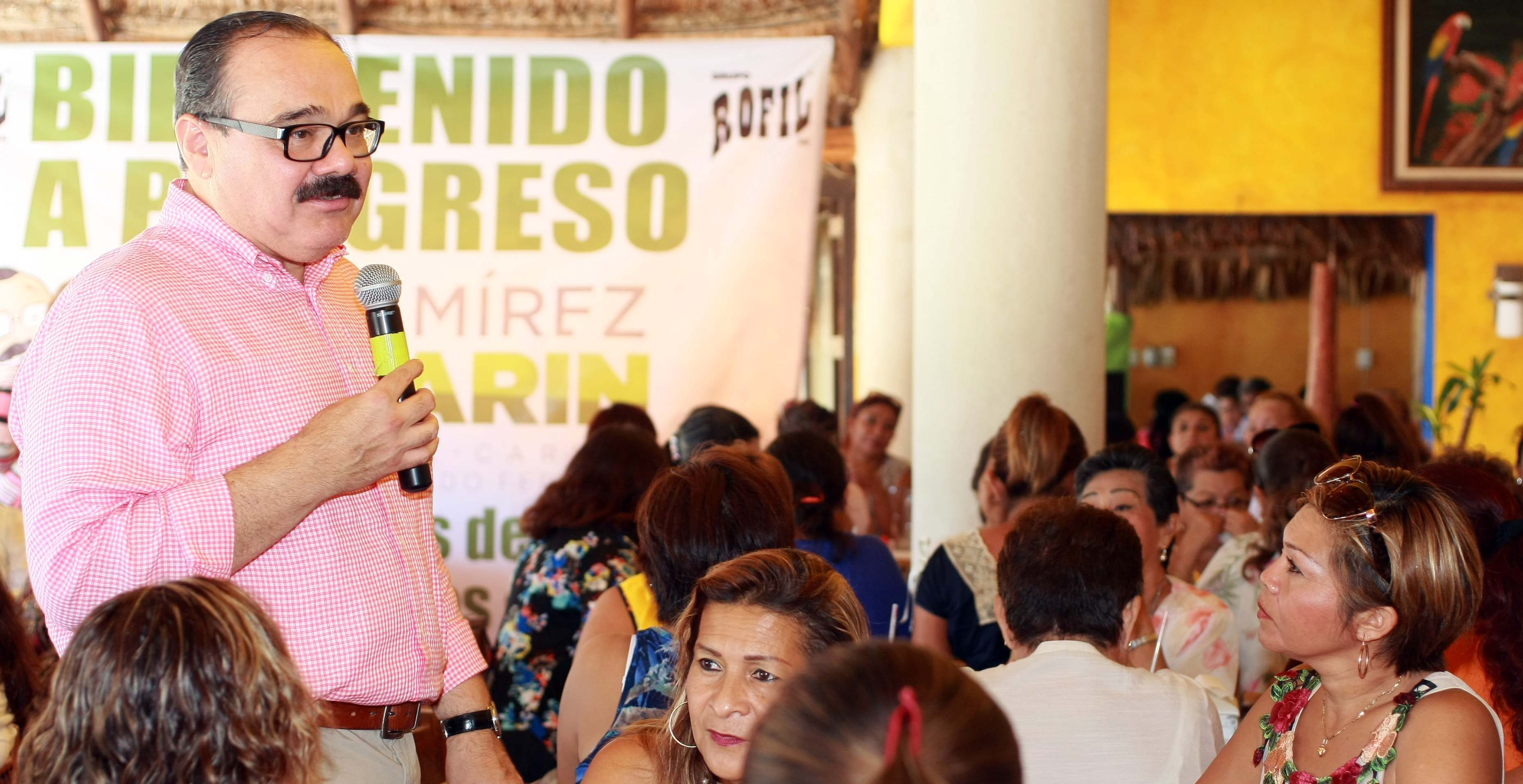Más empleo femenino en Yucatán.-  Ramírez Marín