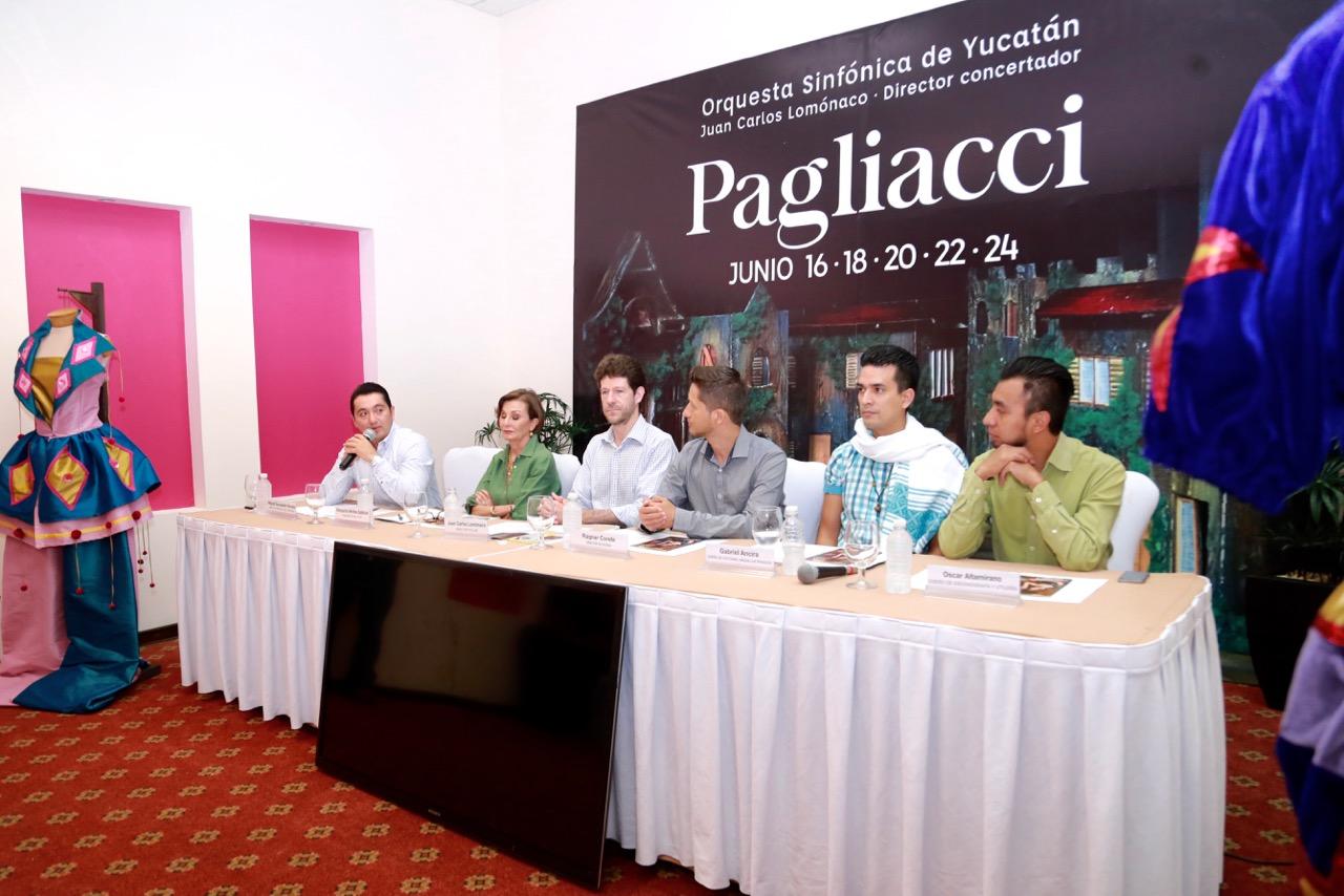 """""""Pagliacci"""", drama operístico en el Peón Contreras"""