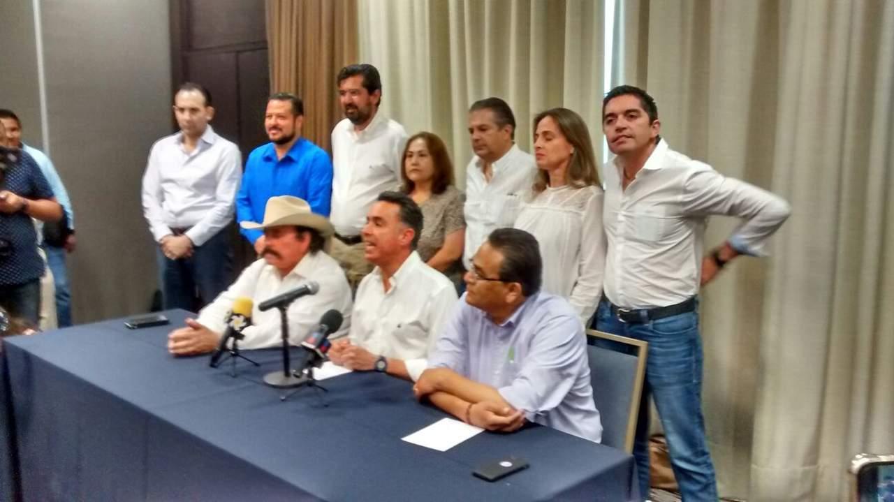 Denuncia Anaya fraude; crea frente con Guadiana y Guerrero