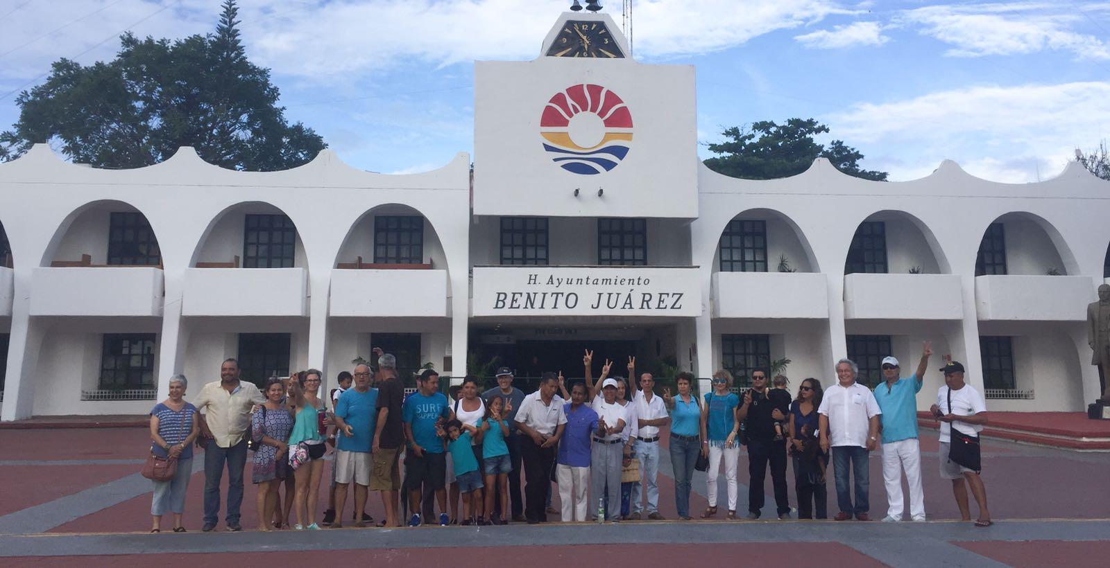 'Desairan' ciudadanos en Cancún manifestación por paz