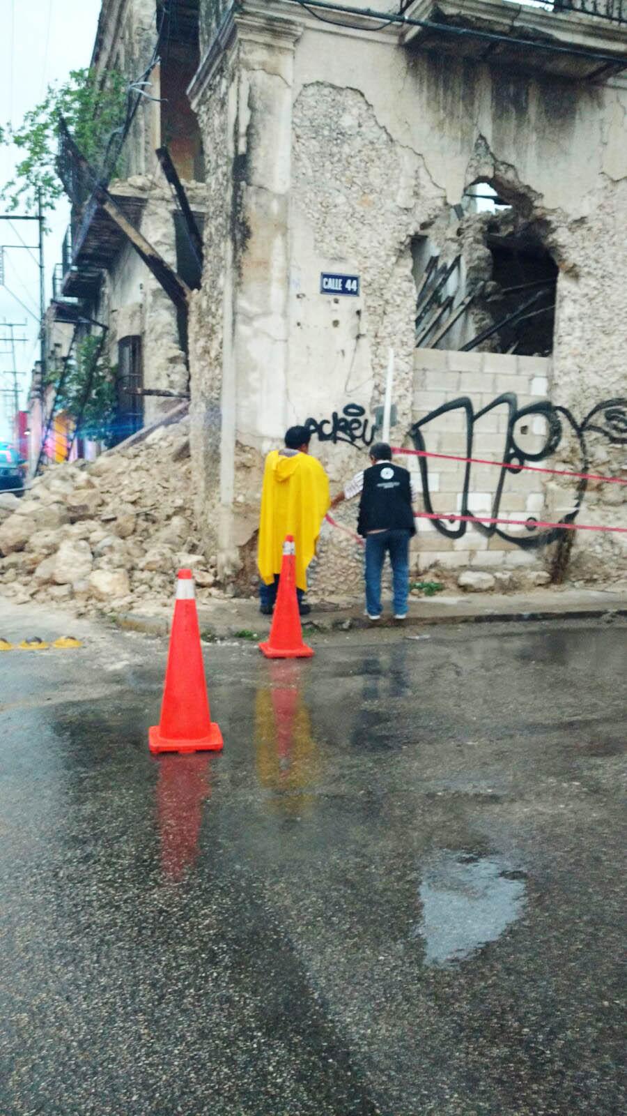 Retoma Mérida planes para edificios en riesgo de derrumbe