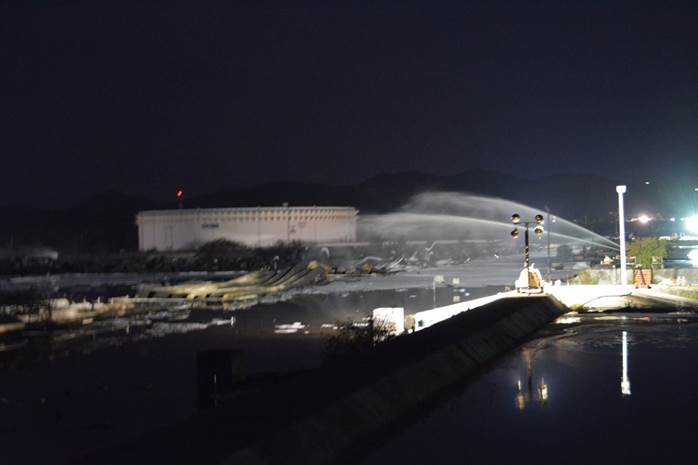 Extinguido incendio en refinería de Pemex