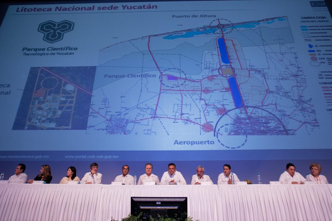 Albergará Yucatán litoteca para estudio de hidrocarburos