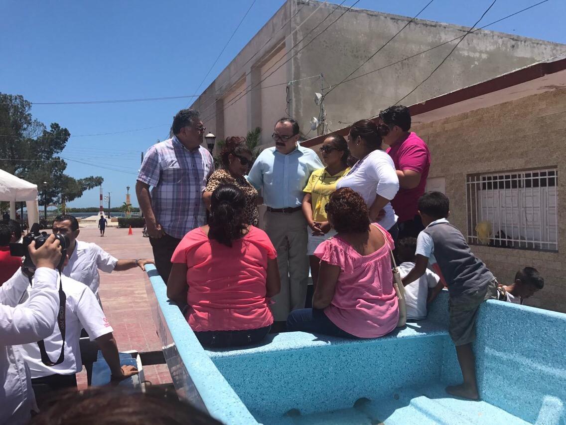 """Embarcaciones para """"Mujeres Trabajadoras del Mar"""" en San Felipe"""