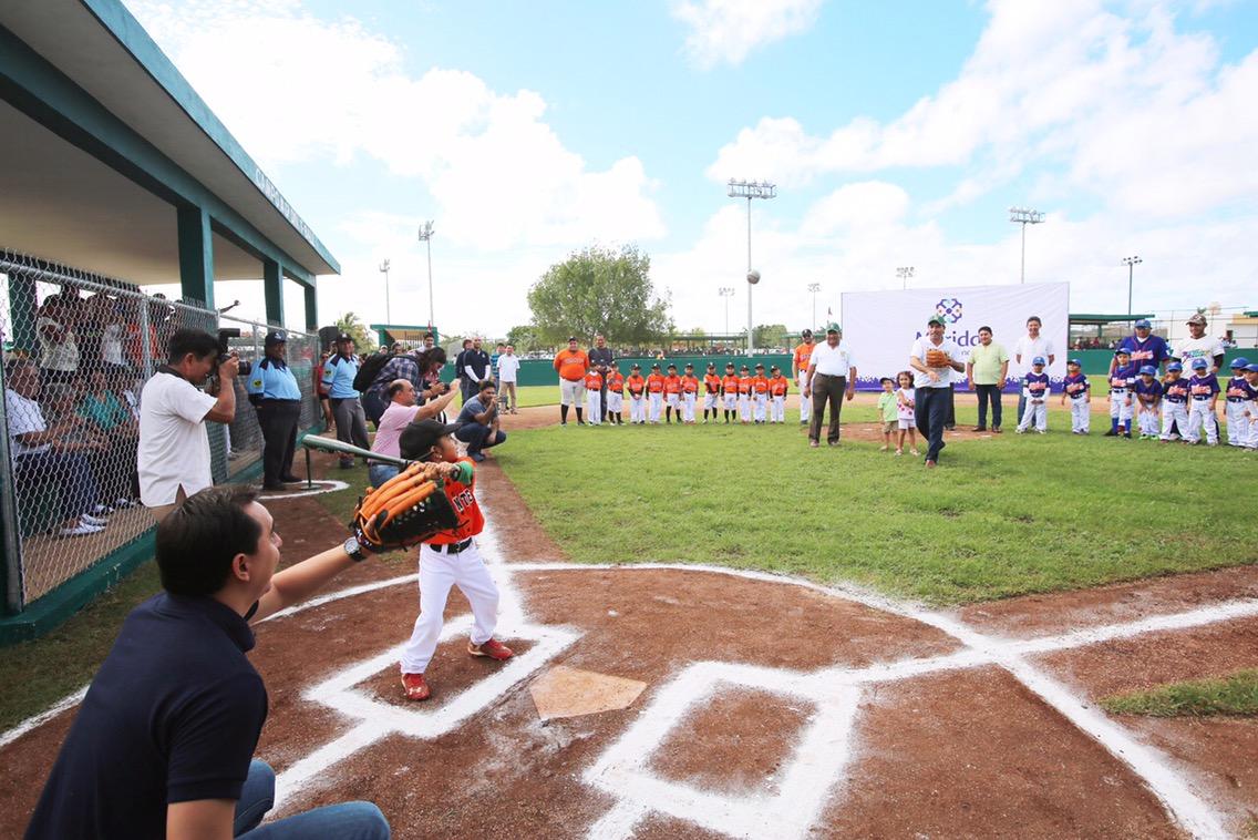 Nuevo espacio para Liga Infantil y Juvenil de Béisbol Yucatán A.C
