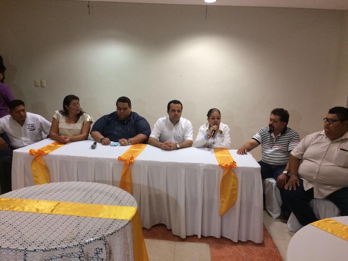 Fracción perredista apoya alianza por gubernatura en Yucatán