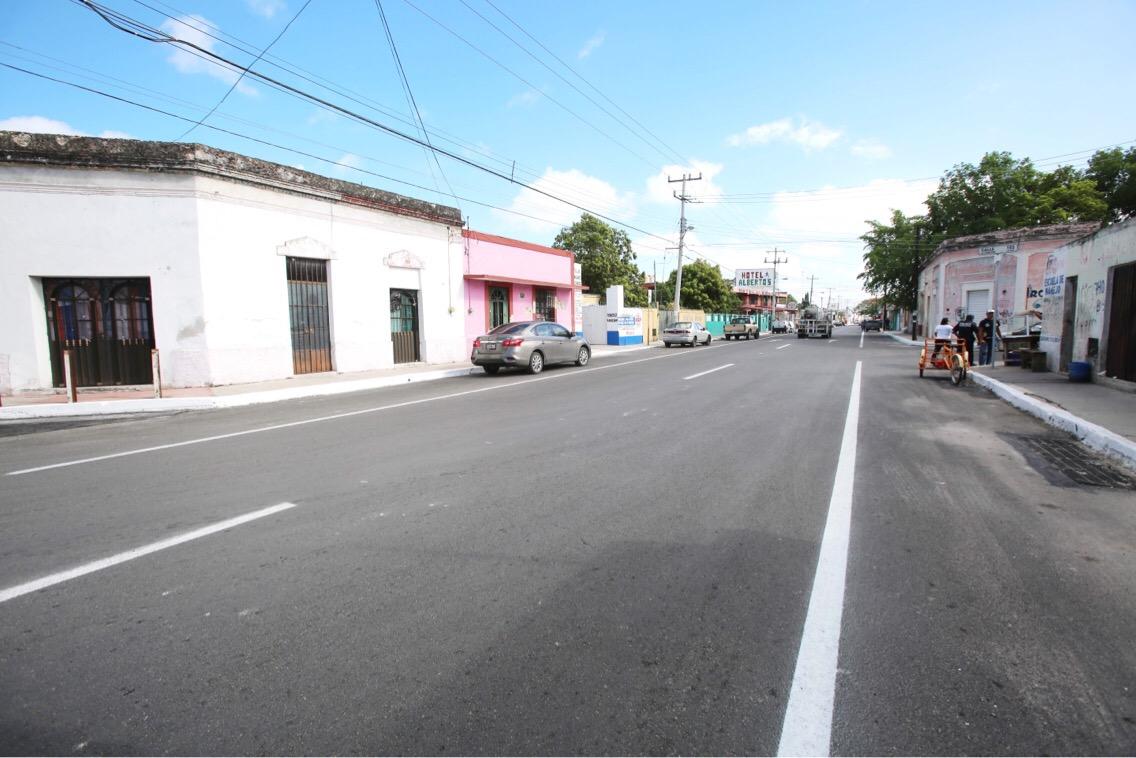Entrega Vila reconstrucción de 1.3 km de la calle 60 sur