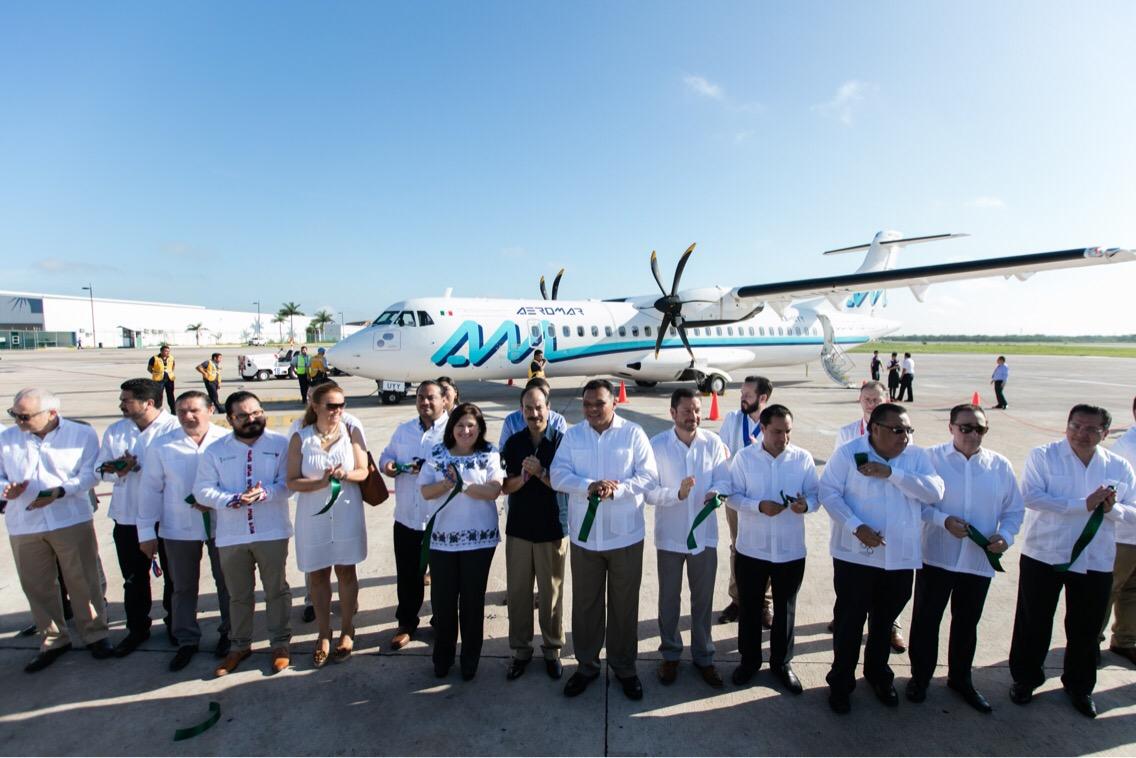 'Enganchan' Mundo Maya a flujo aéreo de Cancún