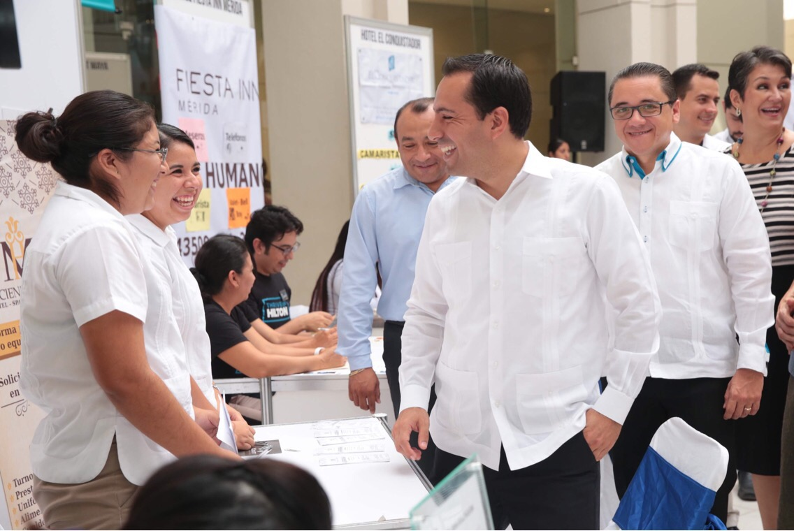 Repunta empleo en sector turístico de Mérida