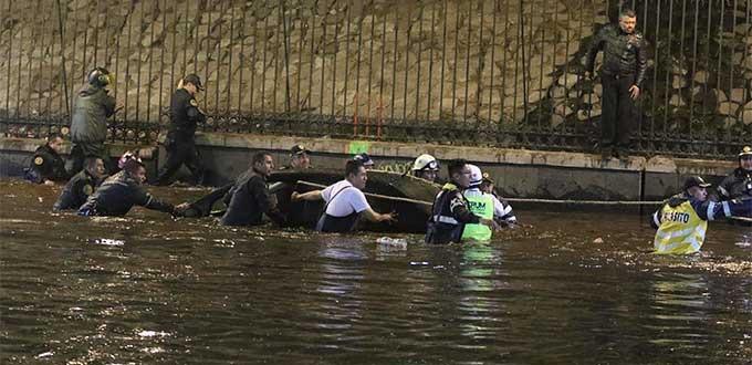 Vive CDMX segundo día de inundaciones