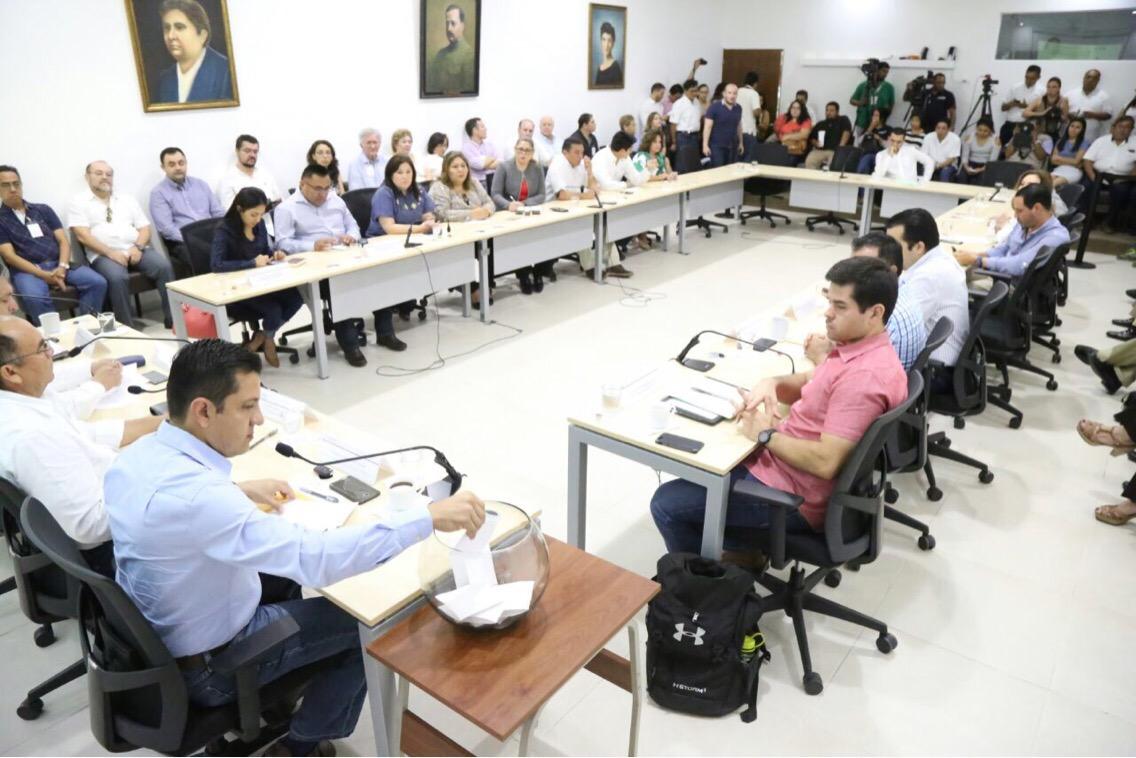 'Pasarela' de aspirantes a Auditor Superior en Yucatán