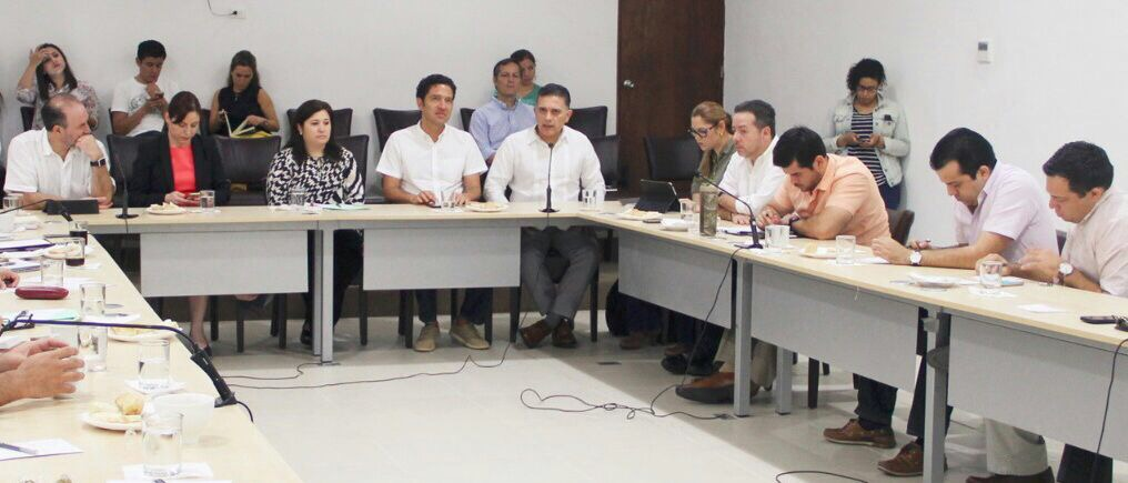 Legisladores locales revisan con IP- Yucatán Sistema Anticorrupción