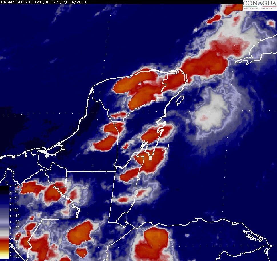 Alertan por tormentas muy fuertes en las próximas horas