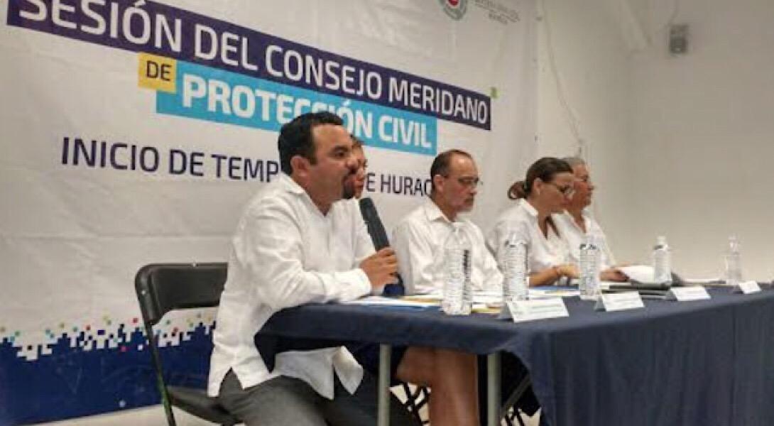 Se prepara Mérida por huracanes este año