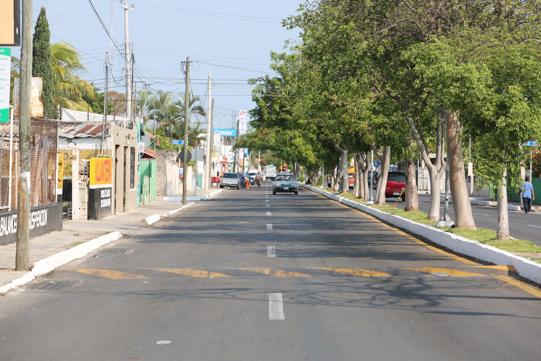 Trabajos de rehabilitación en calle 69 de colonia Miraflores